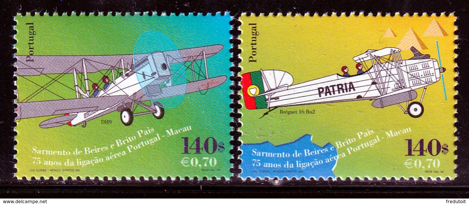 PORTUGAL - N°2312/3 ** (1999) - Nuovi