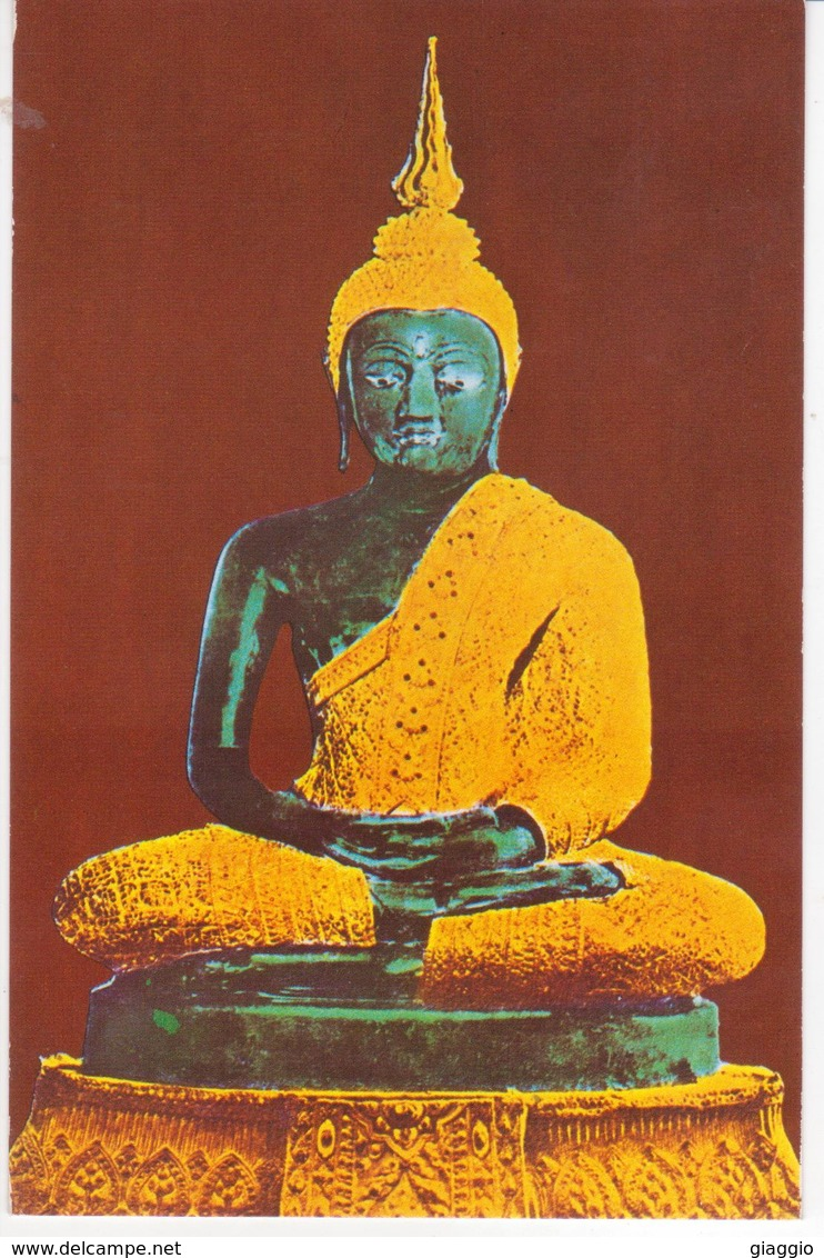 °°° 13435 - THAILAND - BANGKOK - THE IMAGE OF THE BUDDHA - With Stamps °°° - Tailandia