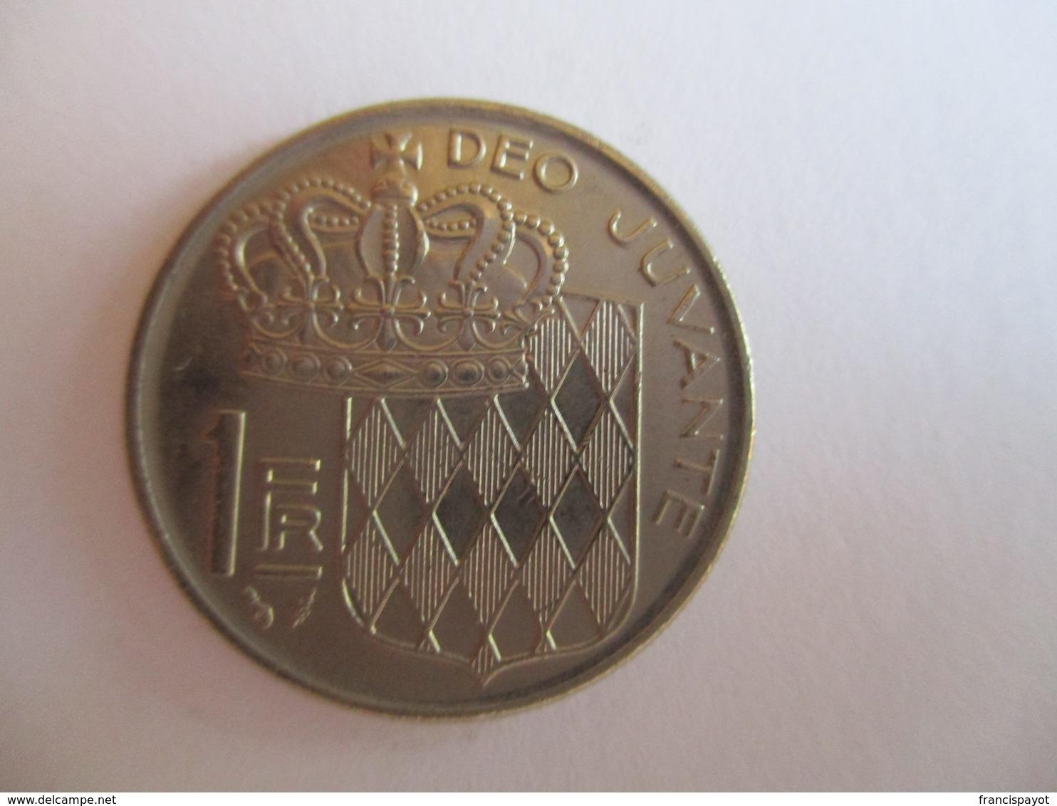 Monaco 1 Franc 1978 - 1960-2001 Nouveaux Francs
