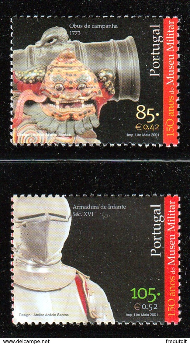 PORTUGAL - N°2496/7 ** (2001) - Nuovi