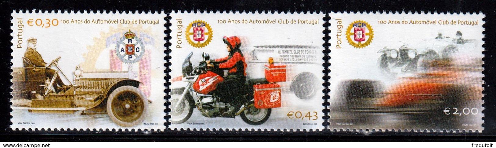 PORTUGAL - N°2674/6 ** (2003) Automobile-club - Nuovi