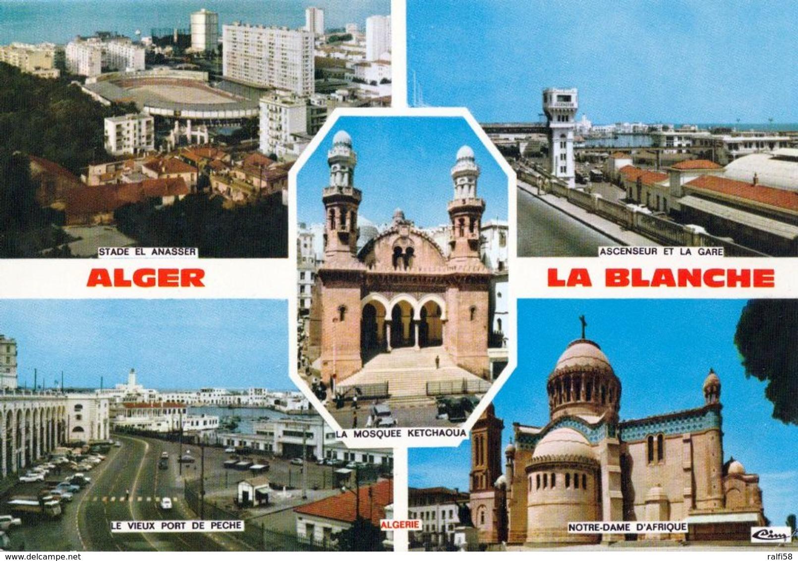 1 AK Algerien * Sehenswürdigkeiten In Der Hauptstadt Algier - Die Weiße Stadt * - Alger