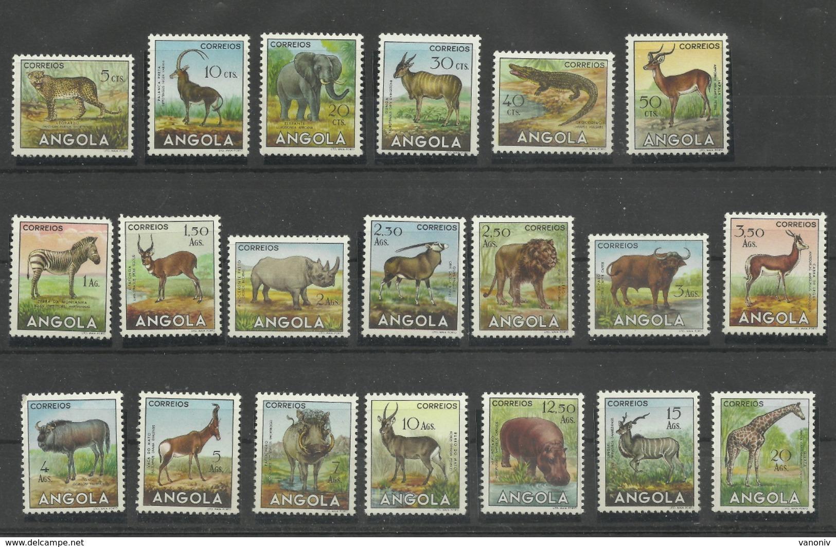 Angola 368/387 ** - Angola