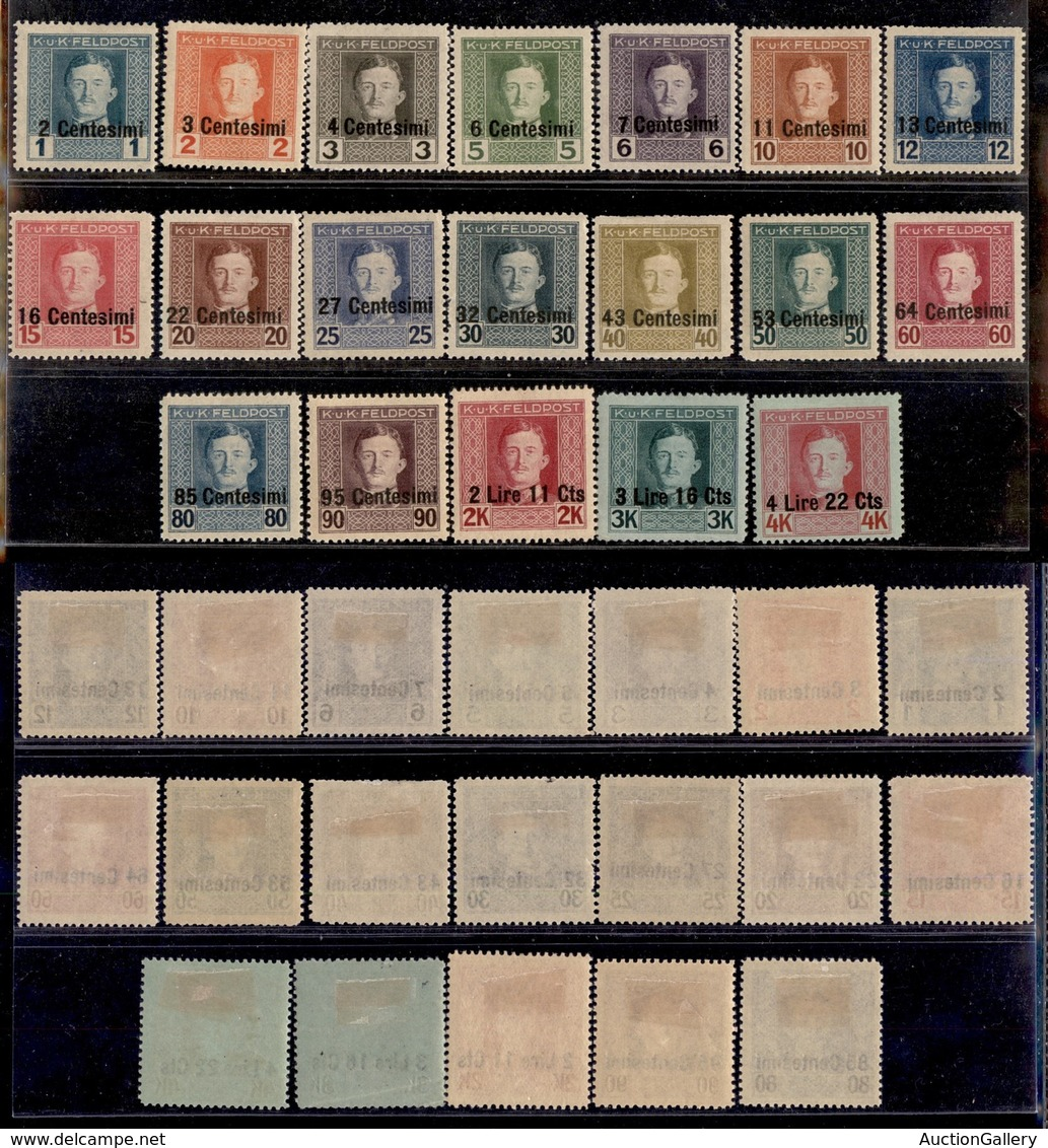 Occupazioni Straniere Di Territori Italiani - Occupazione Austriaca (Friuli-Veneto/Municipio Di Udine) - 1918 - Feldpost - Stamps
