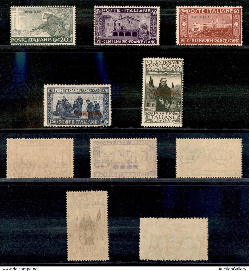 Colonie - Tripolitania - 1926 - San Francesco (28/32) - Serie Completa - Gomma Originale (24) - Stamps