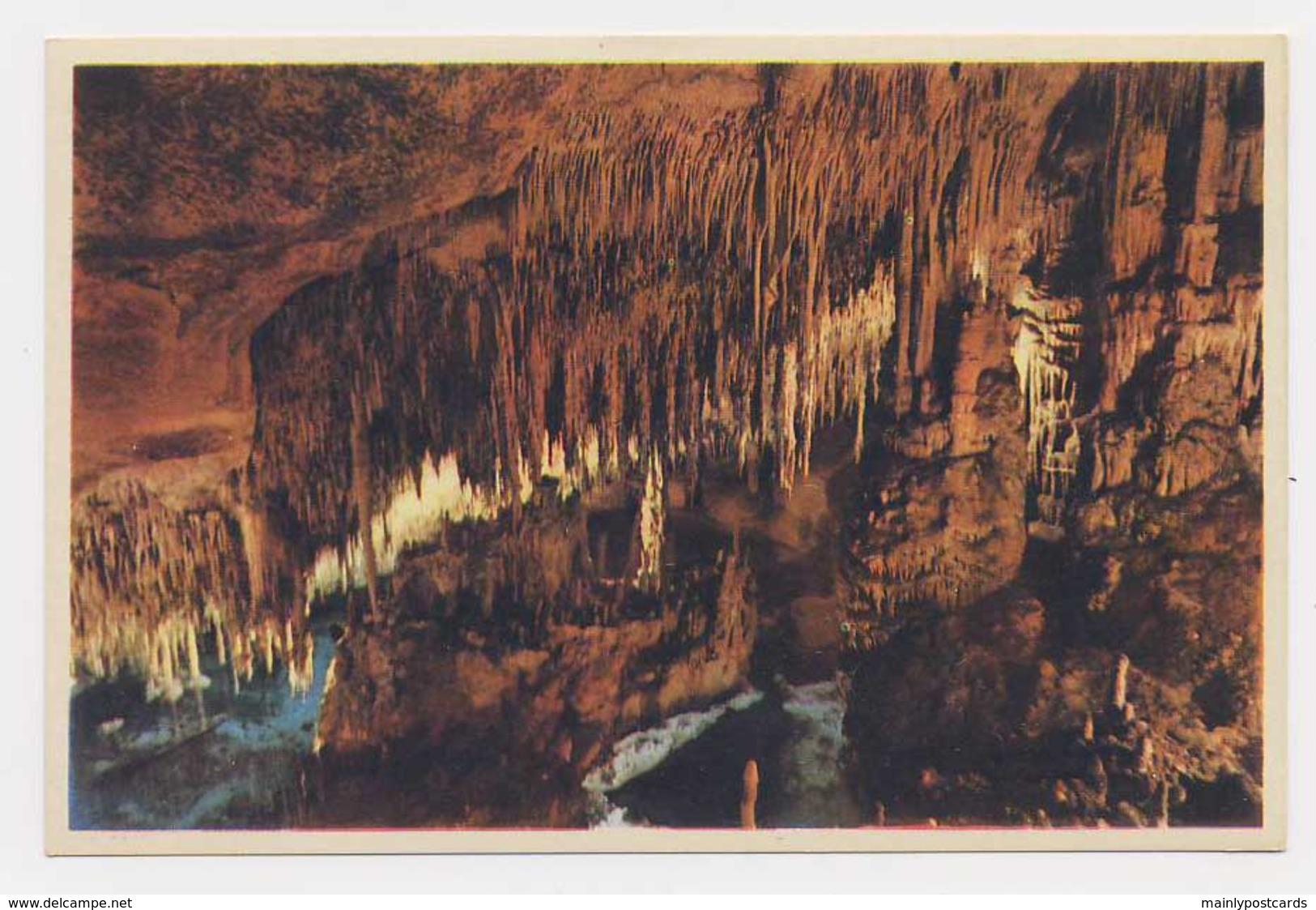 AI79 Cuevas Del Drach, Castillo En Ruinas - Mallorca