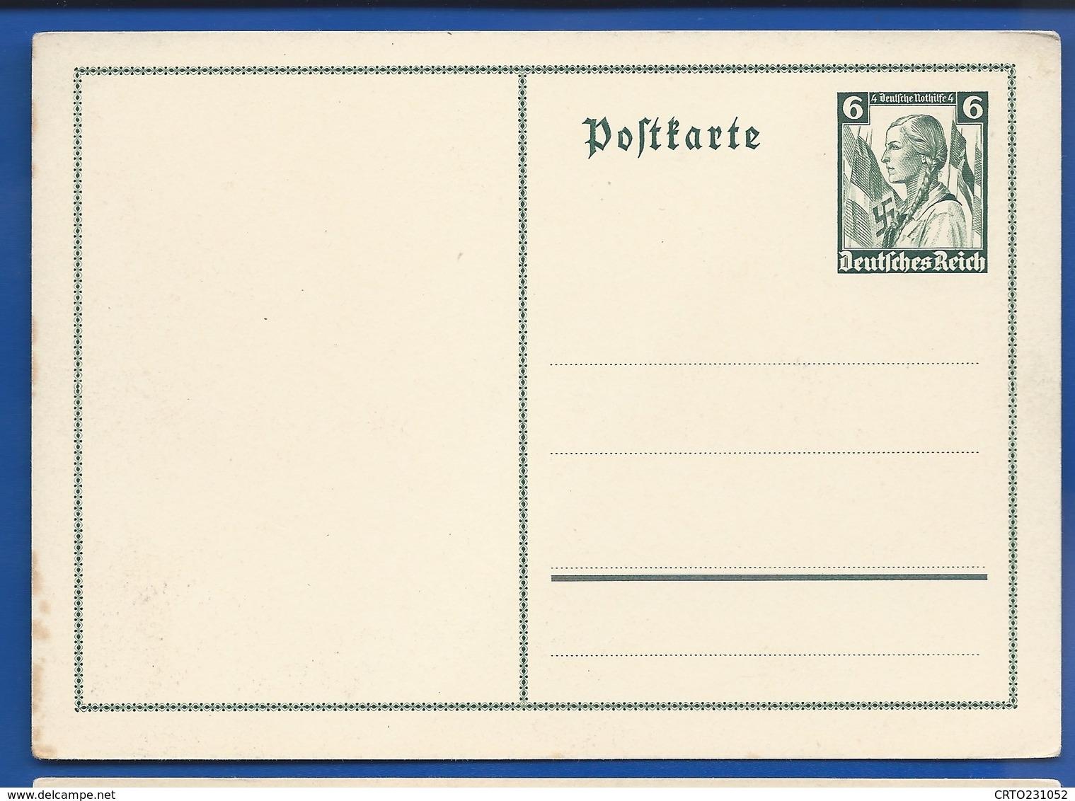 POSTKARTE à 6 Deutches Reich   III° Reich  Neufs  Jeune Fille - Allemagne