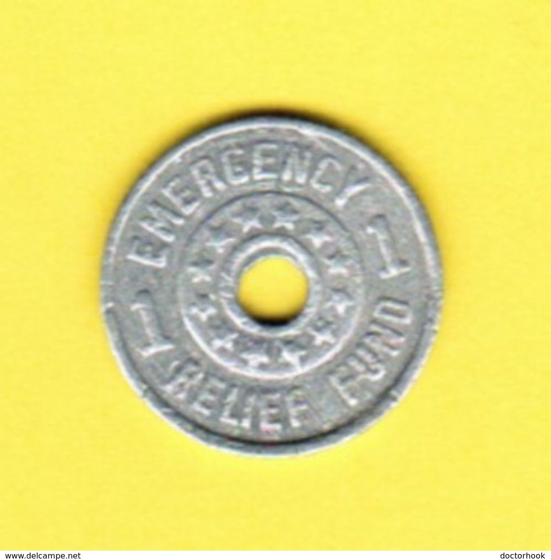 U.S.A.    UTAH EMERGENCY RELIEF FUND SALES TAX Token (T-17) - USA