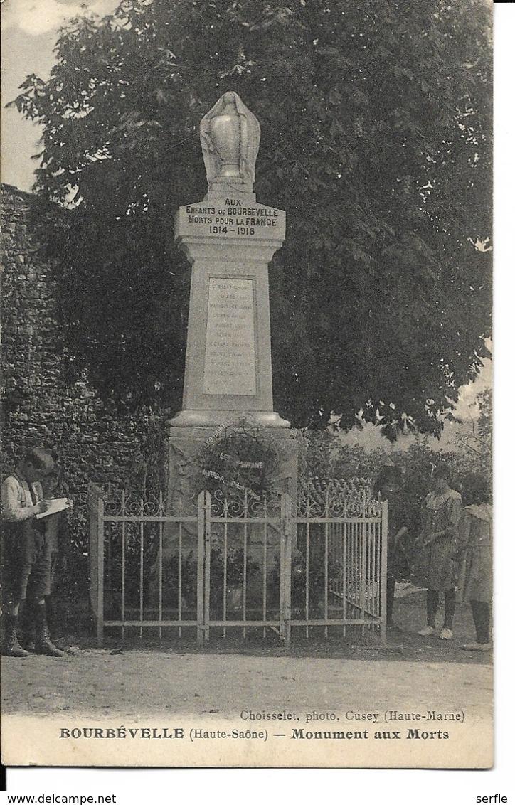 70 - Bourbévelle - Monument Aux Morts - Autres Communes