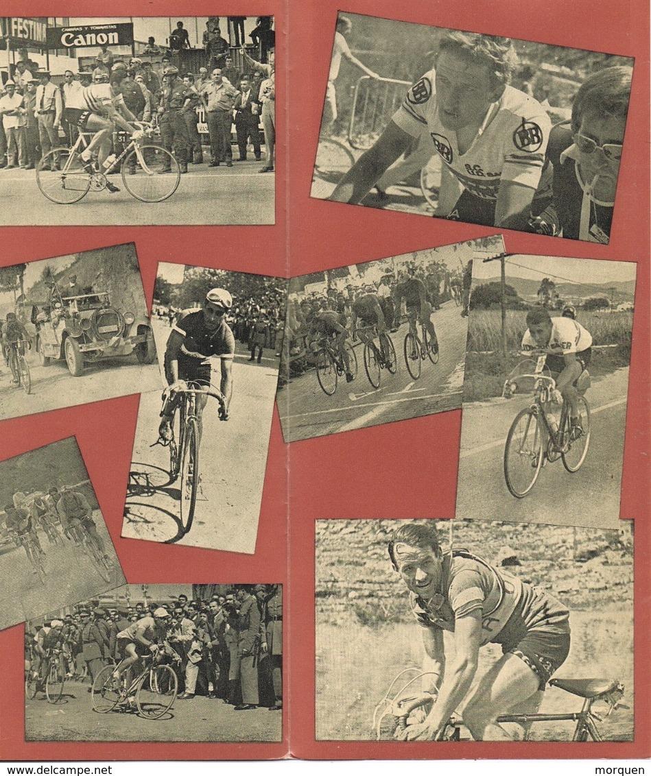 33607. Triptico 6 Paginas BARCELONA 1978. Salon Nautico, Volta Ciclista Catalunya, Ciclismo - 1931-Hoy: 2ª República - ... Juan Carlos I