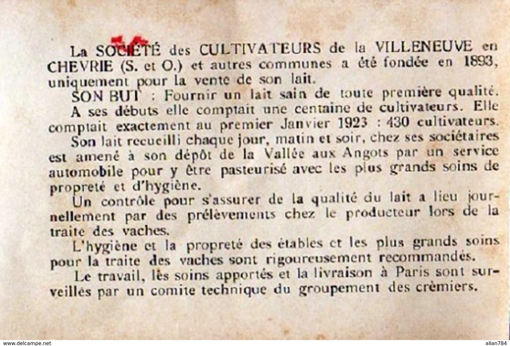 27 - BELLE CPA NOTRE DAME DE L'ISLE - FERME DE MONSIEUR FLAMICHON - ADHERENTE A LA SCVC - VOIR NOTICE - EXC ETAT - - France
