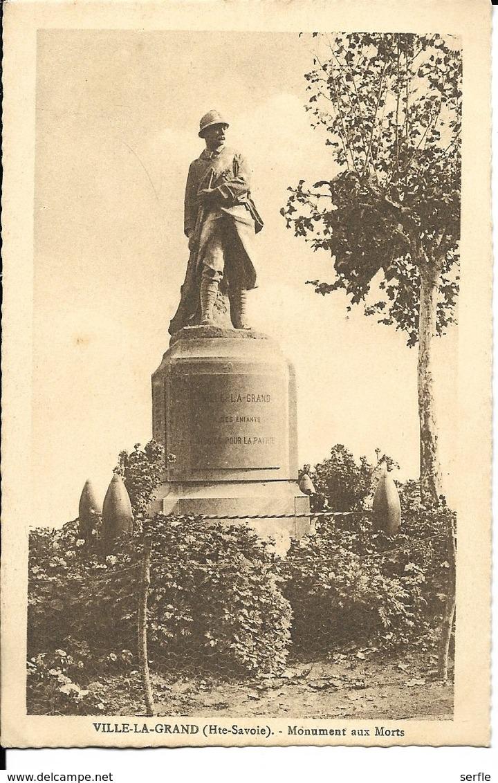 74 - Ville-la-Grand - Monument Aux Morts - Autres Communes