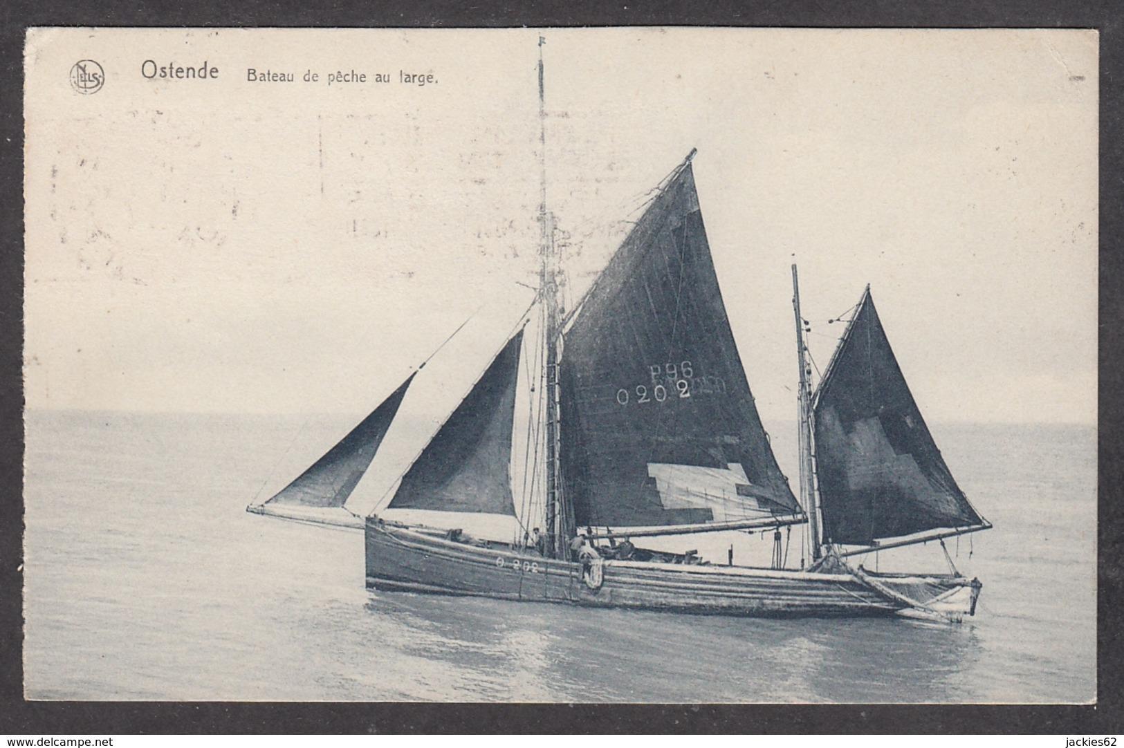 104680/ OOSTENDE, Bateau De Pêche Au Large - Oostende