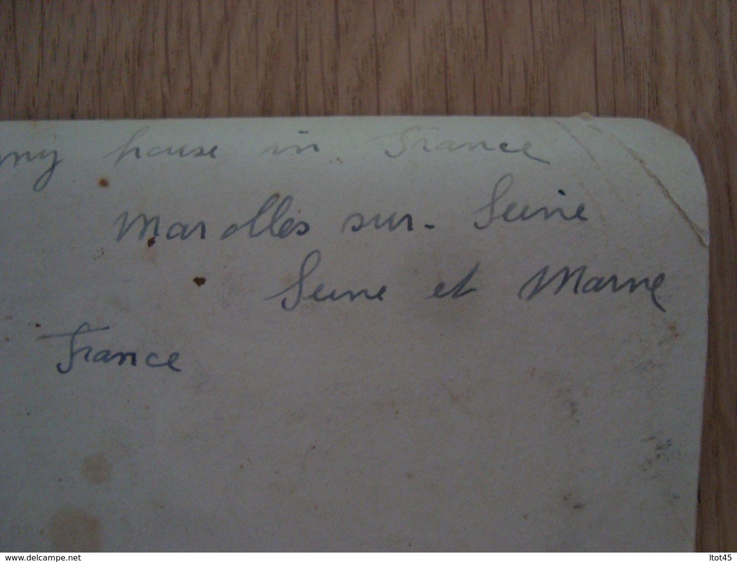 PHOTO D'UNE MAISON A MAROLLES SUR SEINE SEINE ET MARNE - Plaatsen