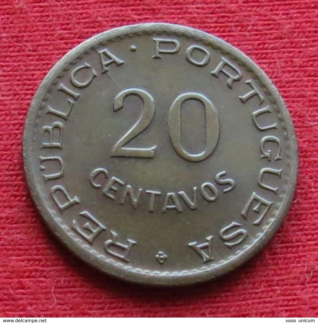 Mozambique 20 Centavos 1949 Mozambico Moçambique - Mosambik