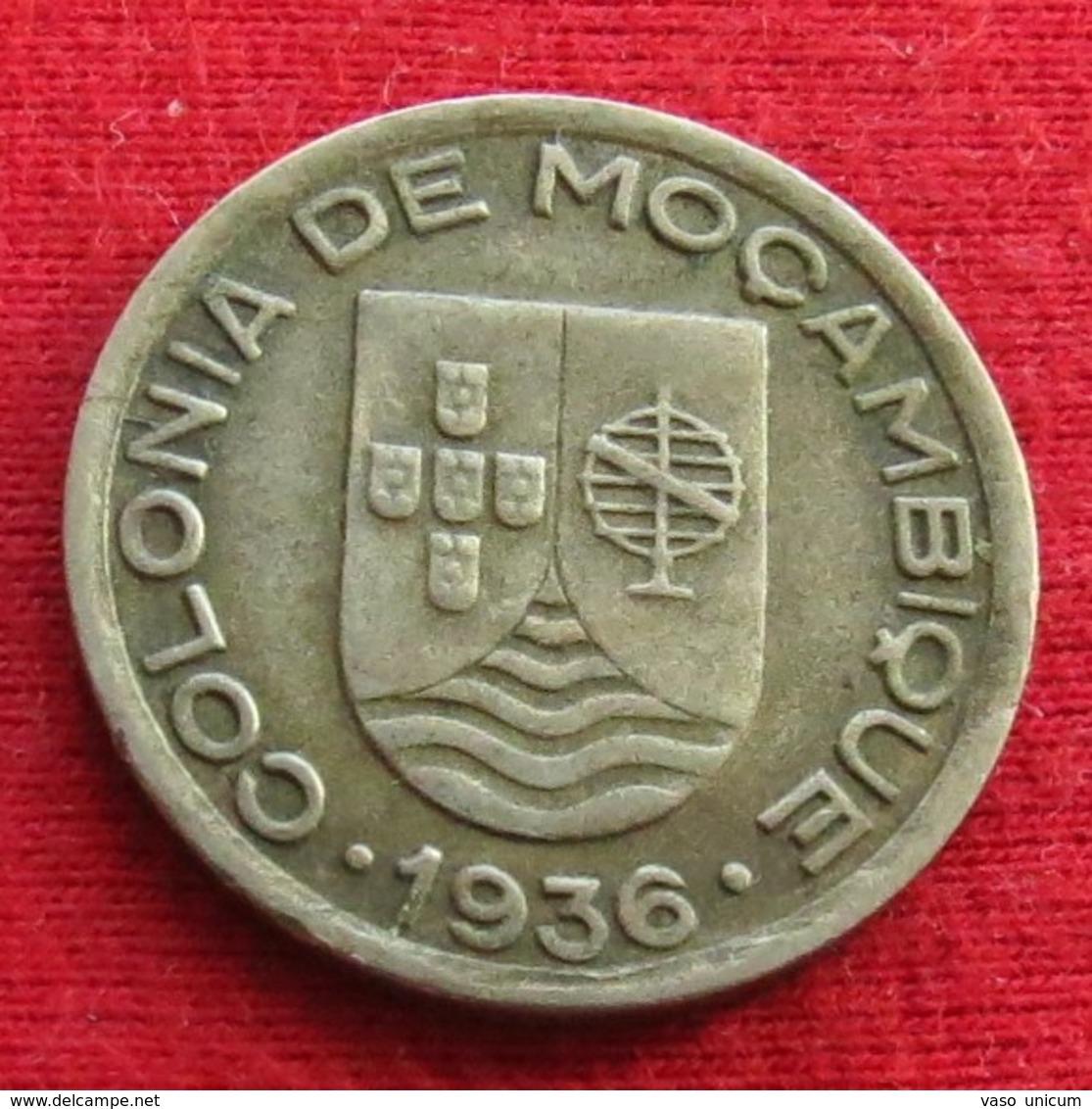 Mozambique 50 Centavos 1936 Mozambico Moçambique - Mozambique