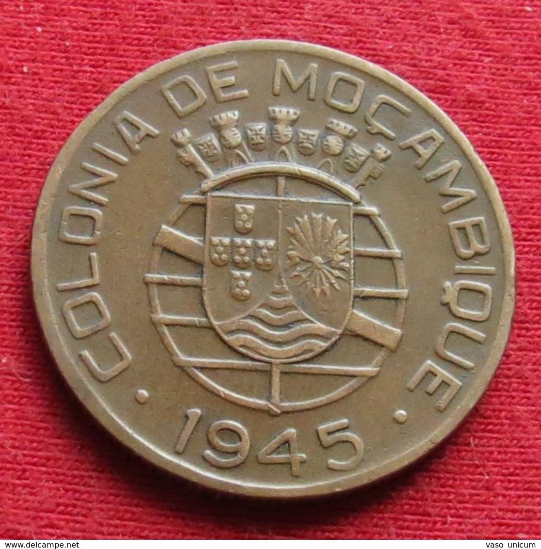 Mozambique 1 Escudo 1945 Mozambico Moçambique - Mozambique