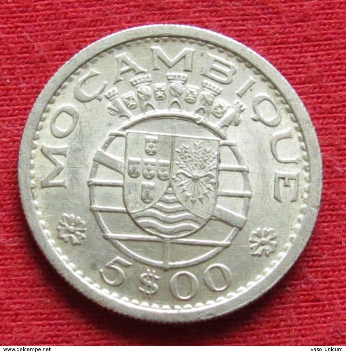 Mozambique 5 Escudos 1960 Mozambico Moçambique - Mozambique