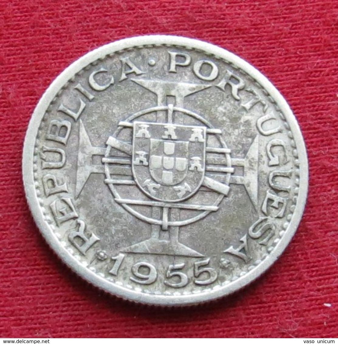 Mozambique 10 Escudos 1955 Mozambico Moçambique - Mozambique