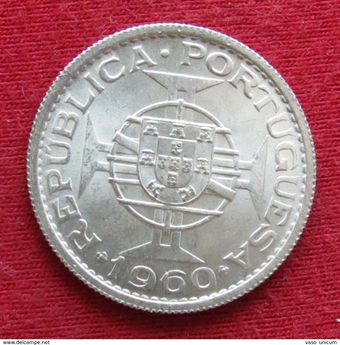 Mozambique 10 Escudos 1960 Mozambico Moçambique - Mozambique