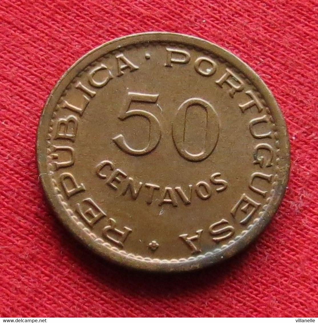 Mozambique 50 Centavos 1957 Mozambico Moçambique Wº - Mozambique