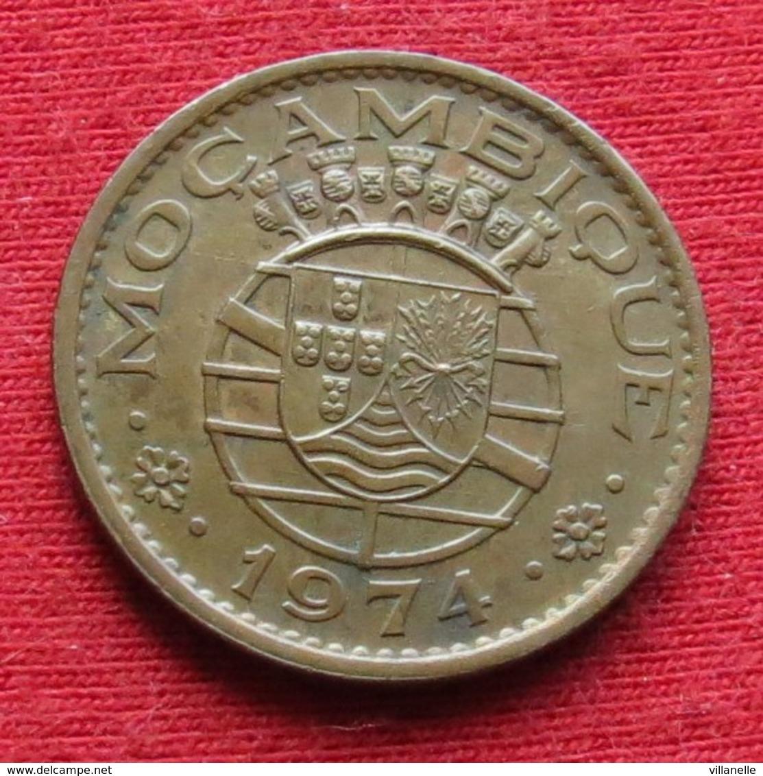 Mozambique 50 Centavos 1974 Mozambico Moçambique Wº - Mozambique