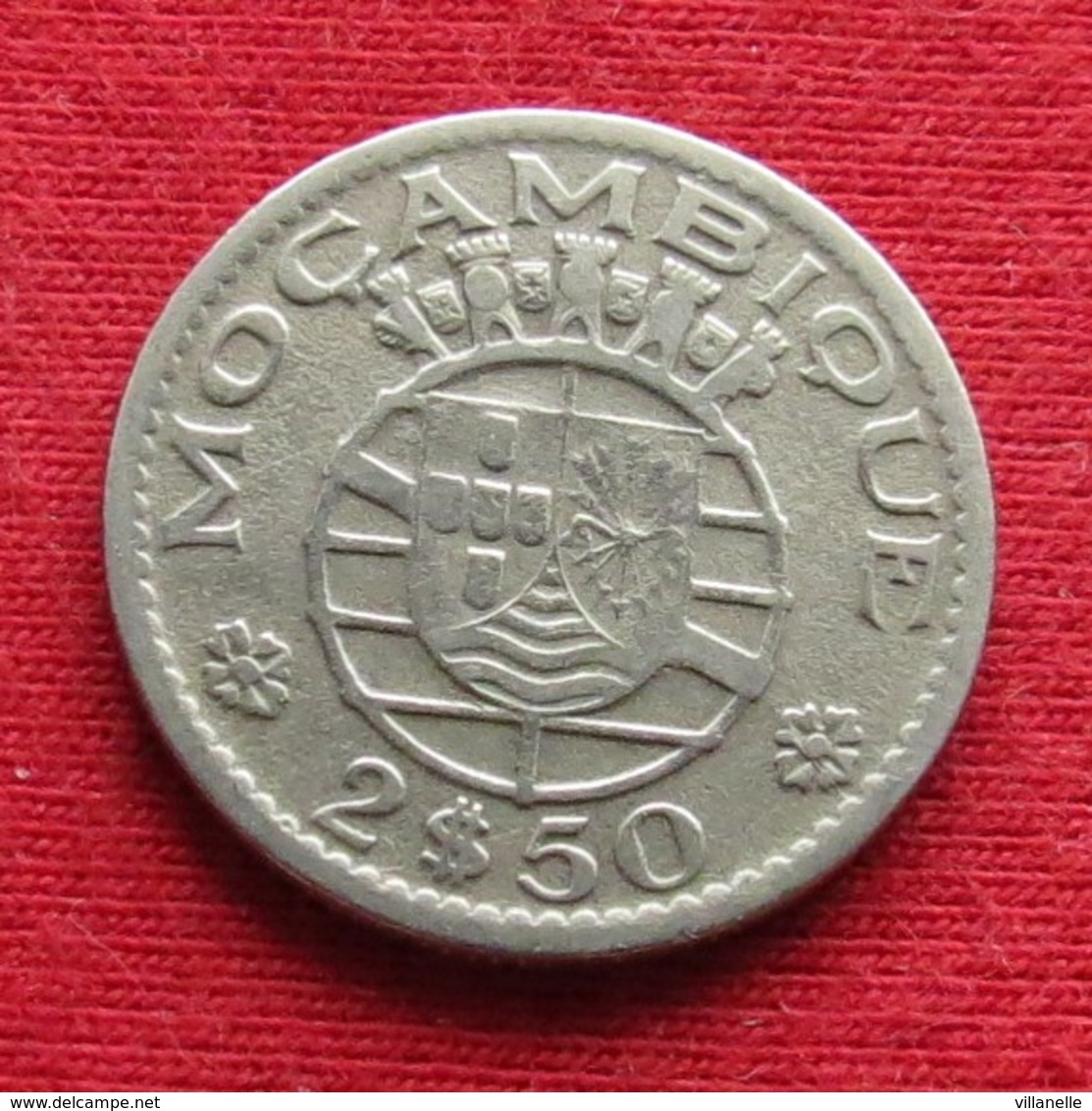 Mozambique 2.50 Escudo 1953 Mozambico Moçambique Wº - Mozambique