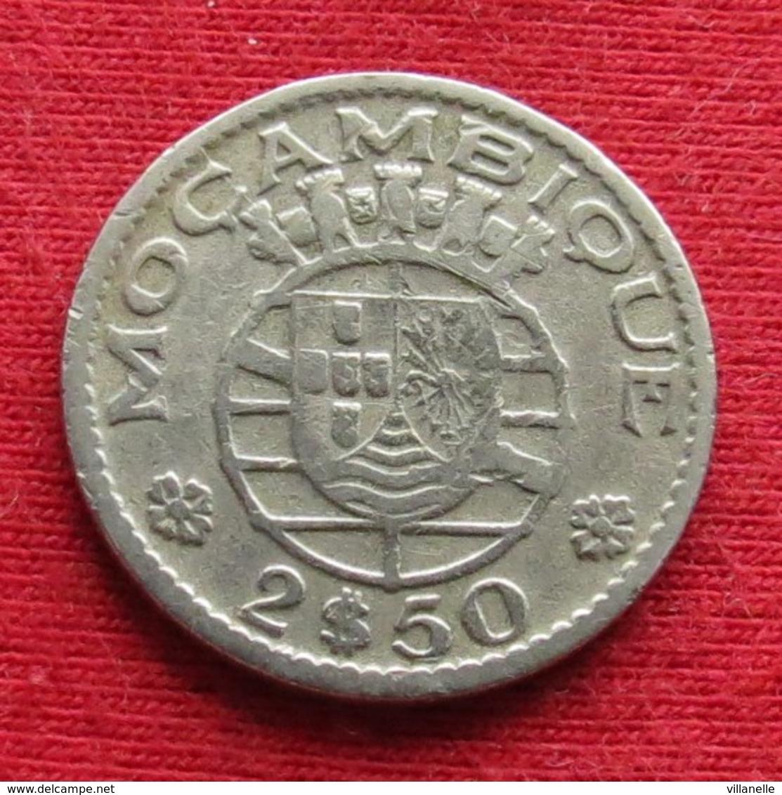 Mozambique 2.50 Escudo 1954 Mozambico Moçambique Wº - Mozambique