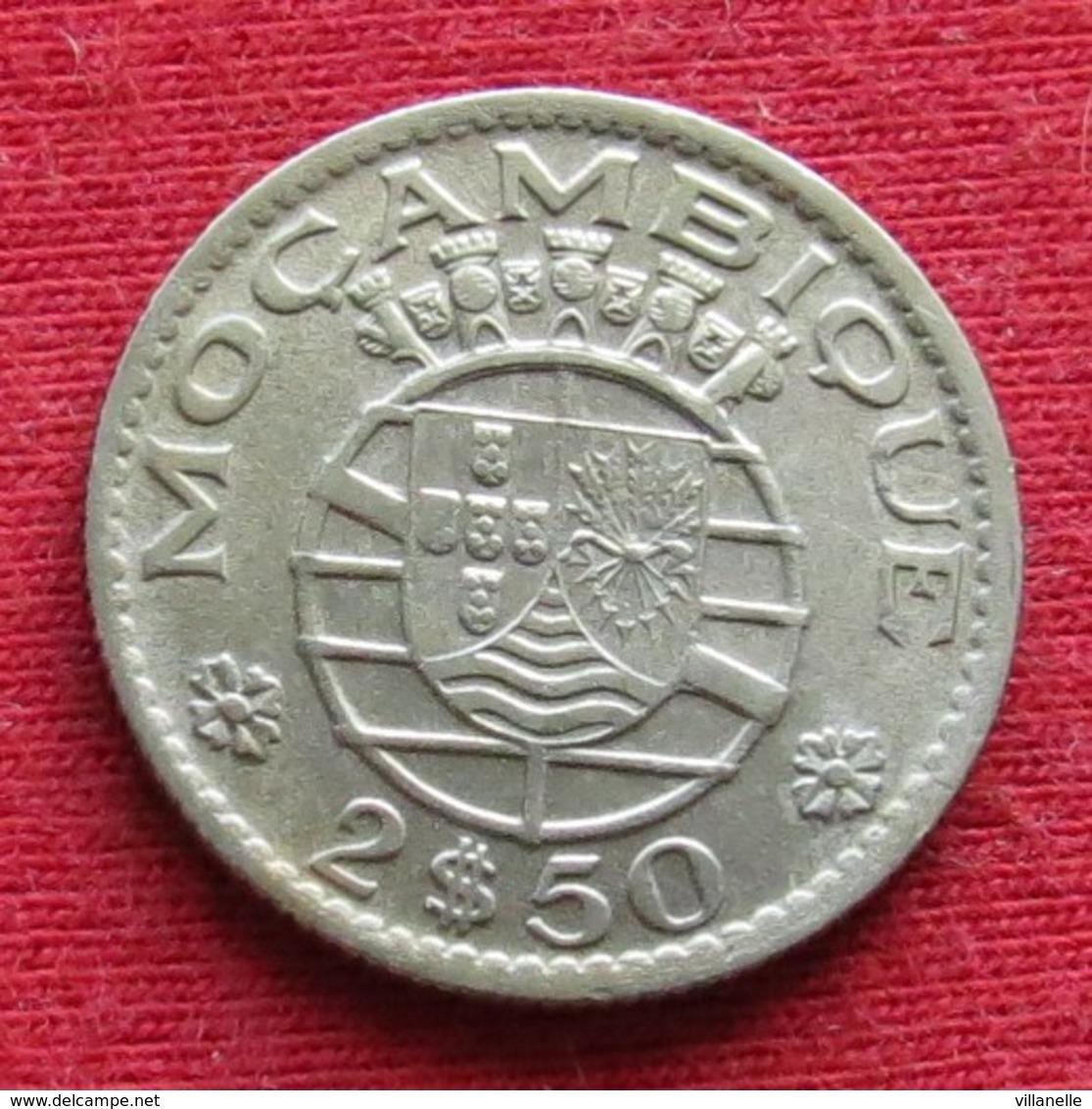 Mozambique 2.50 Escudo 1955 Mozambico Moçambique Wº - Mozambique