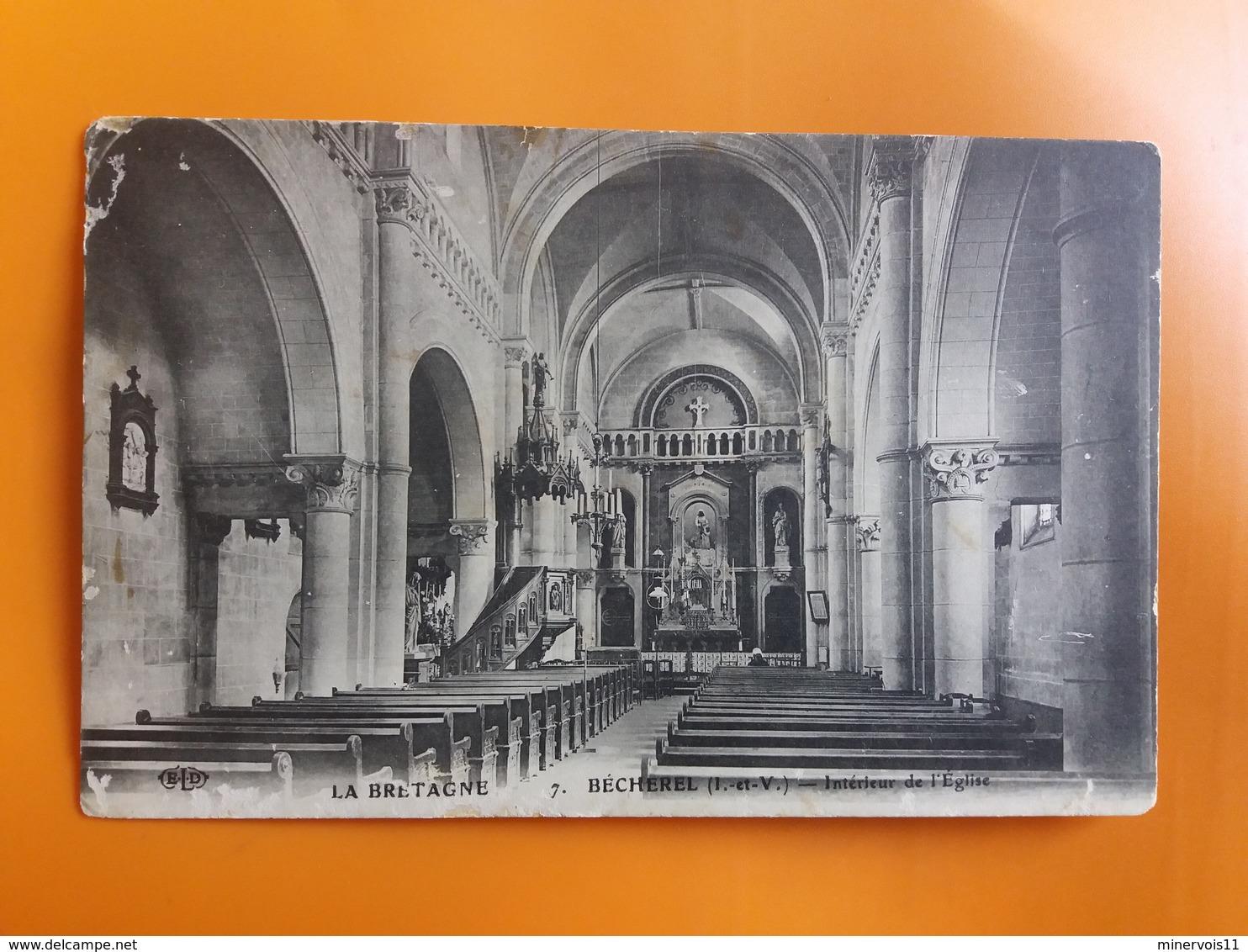 Becherel - Interieur De L'eglise - Bécherel