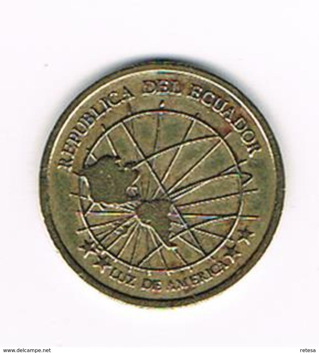 //  ECUADOR  1 CENTAVO  2000 - Ecuador