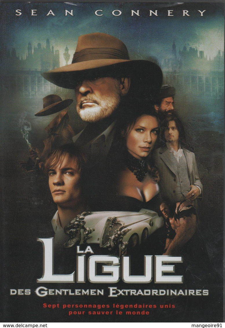 "DVD Film ""La Ligue Des Gentlemen Extraordinaires - Édition Simple "" - SEAN CONNERY - Policiers"