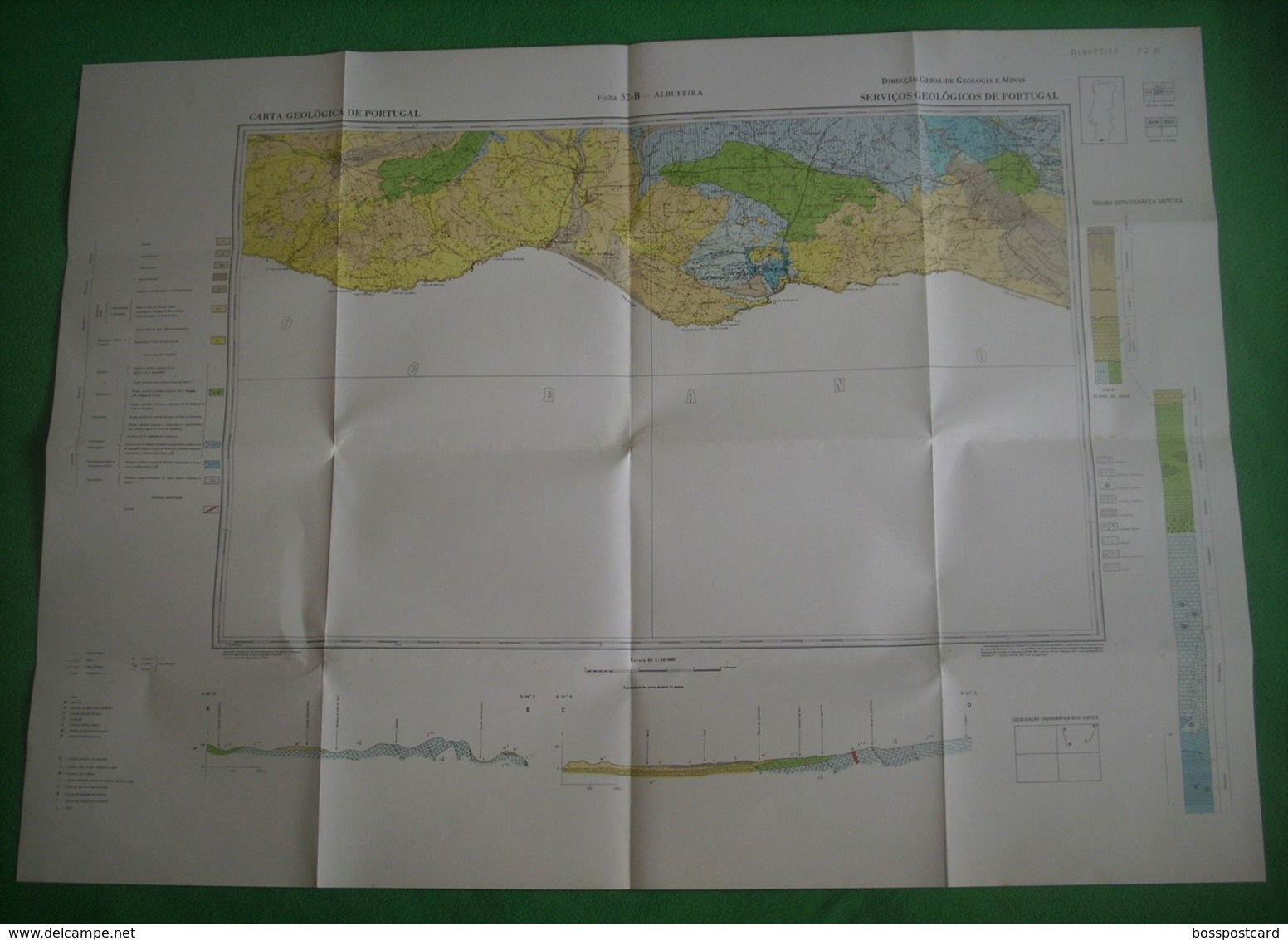 Albufeira - Mapa. Faro. - Geographical Maps