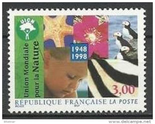 """FR YT 3198 """" Union Mondiale Pour La Nature """" 1998 Neuf** - France"""