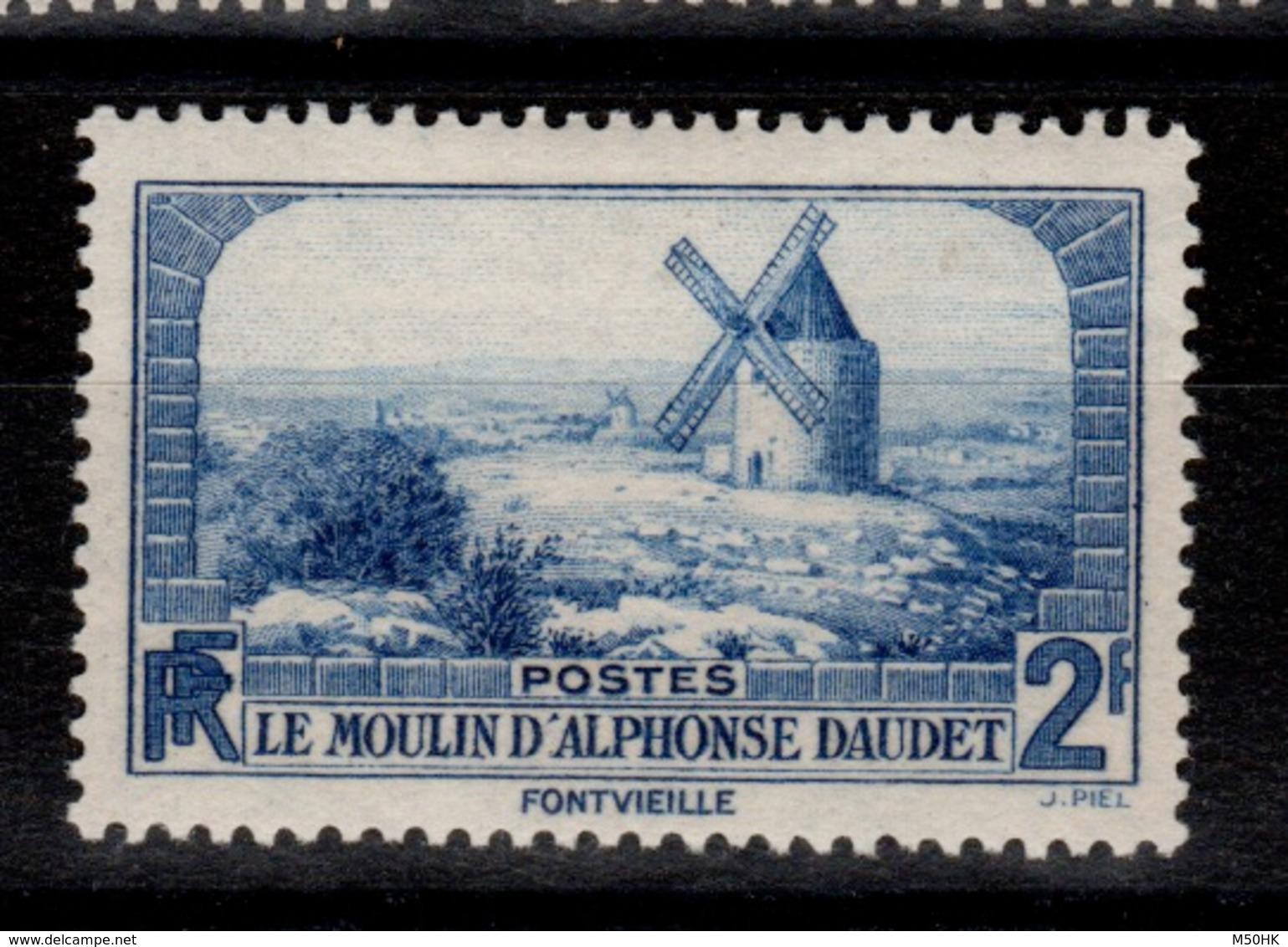 YV 311 N* Moulin De Daudet Cote 4,50 Euros - Unused Stamps