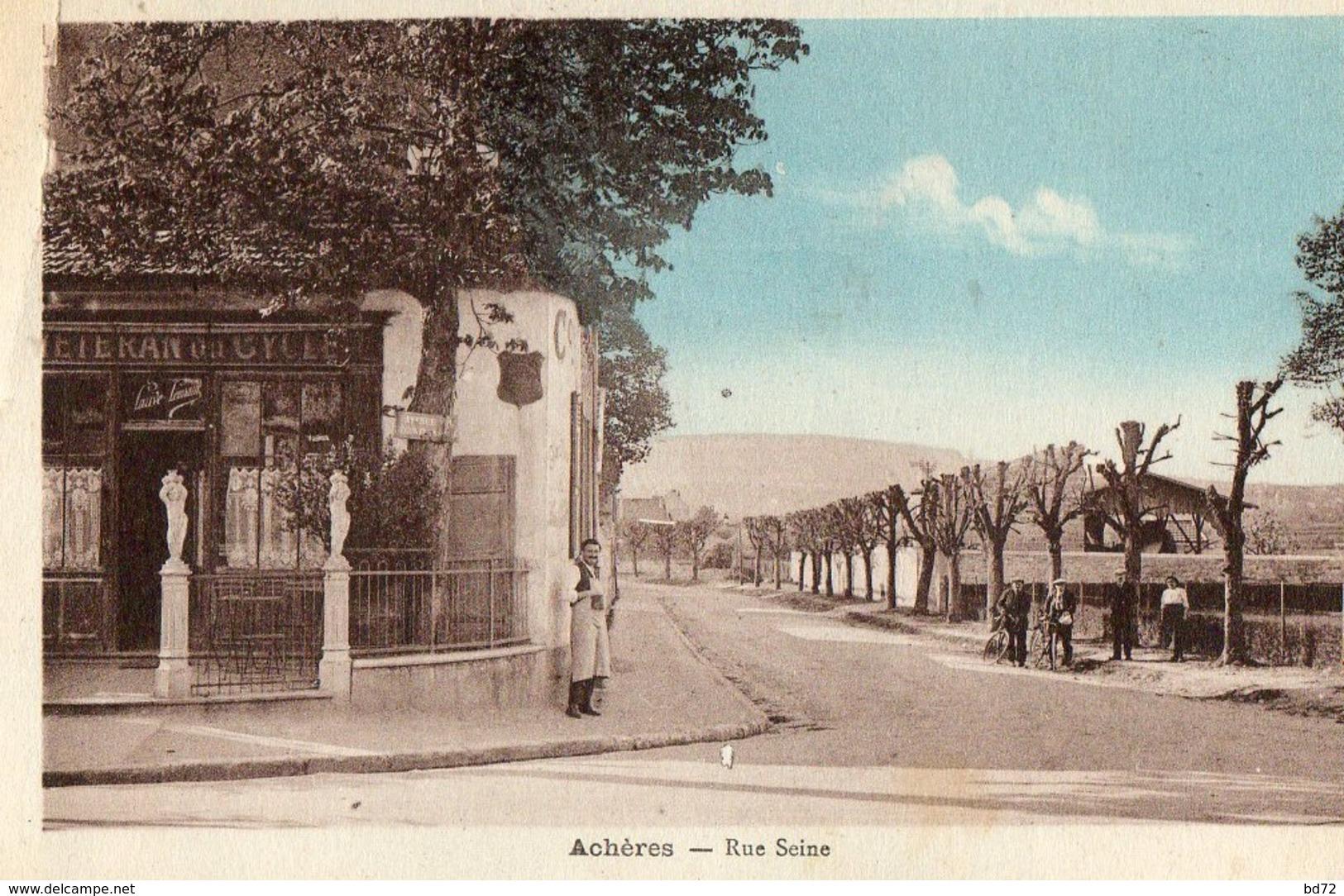 ACHERES ( 77 ) - Rue Seine - Frankrijk