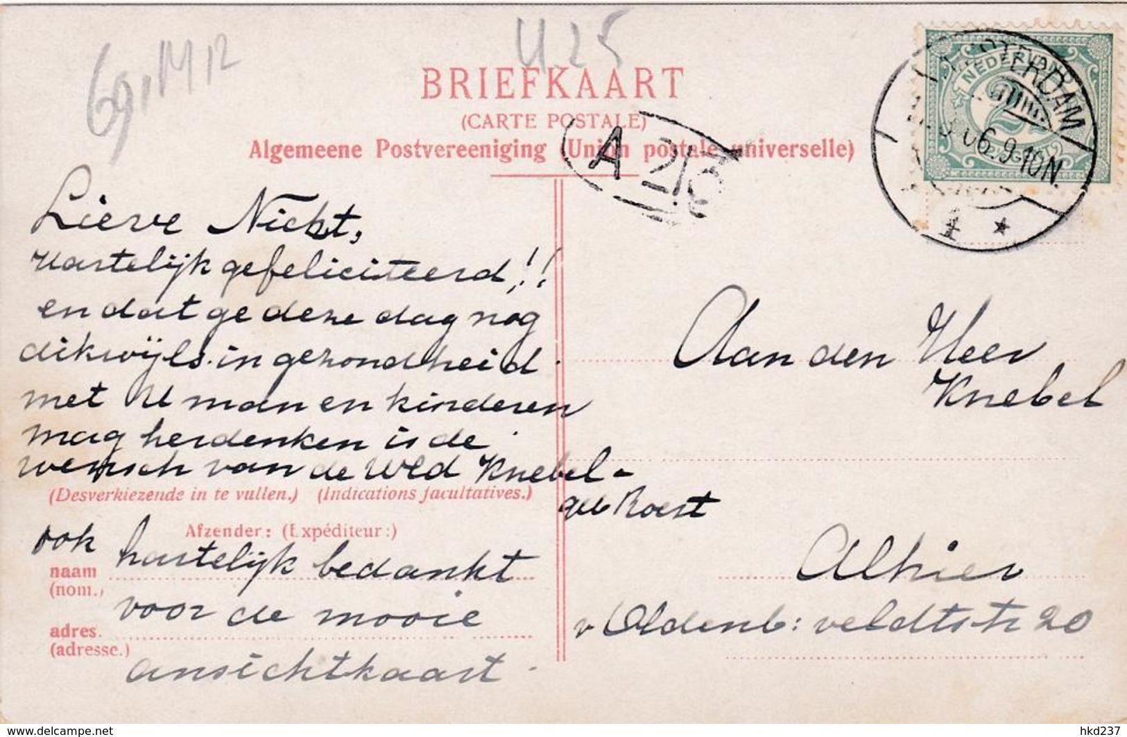 Amsterdam Burger Weeshuis Korfbalspel # 1906    691 - Amsterdam