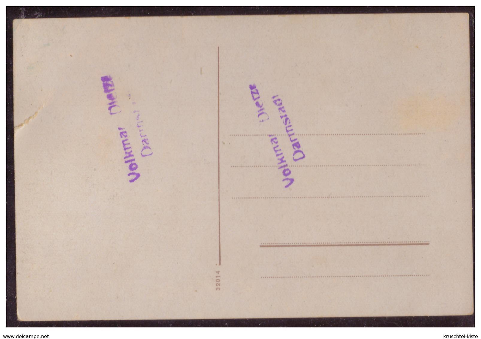 Dt- Reich (W00069) Propagandakarte, Farbig, Hitler, Goering, Hindenburg Vor HK- Fahne, Extrem Selten, Ungebraucht - Allemagne