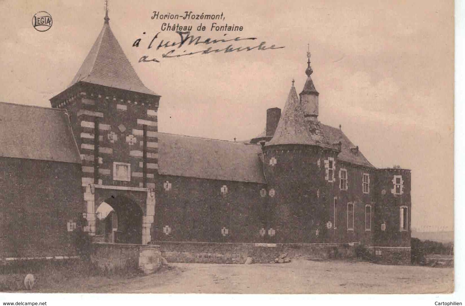 Horion-Hozémont Château De Fontaine - Grâce-Hollogne