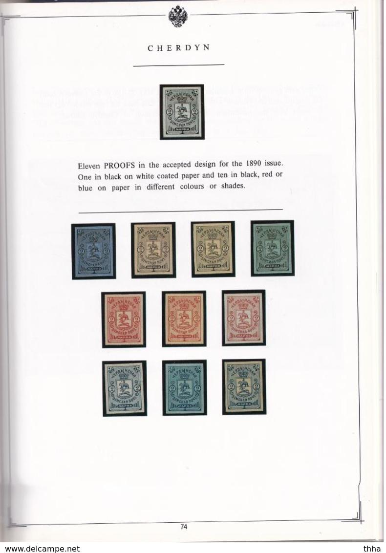 Oleg FABERGE : IMPERIAL RUSSIA ZEMSTVO POST 1993 = La Collection En Couleur Des ZEMSTVOS De FABERGE   600 Exemplaires - France