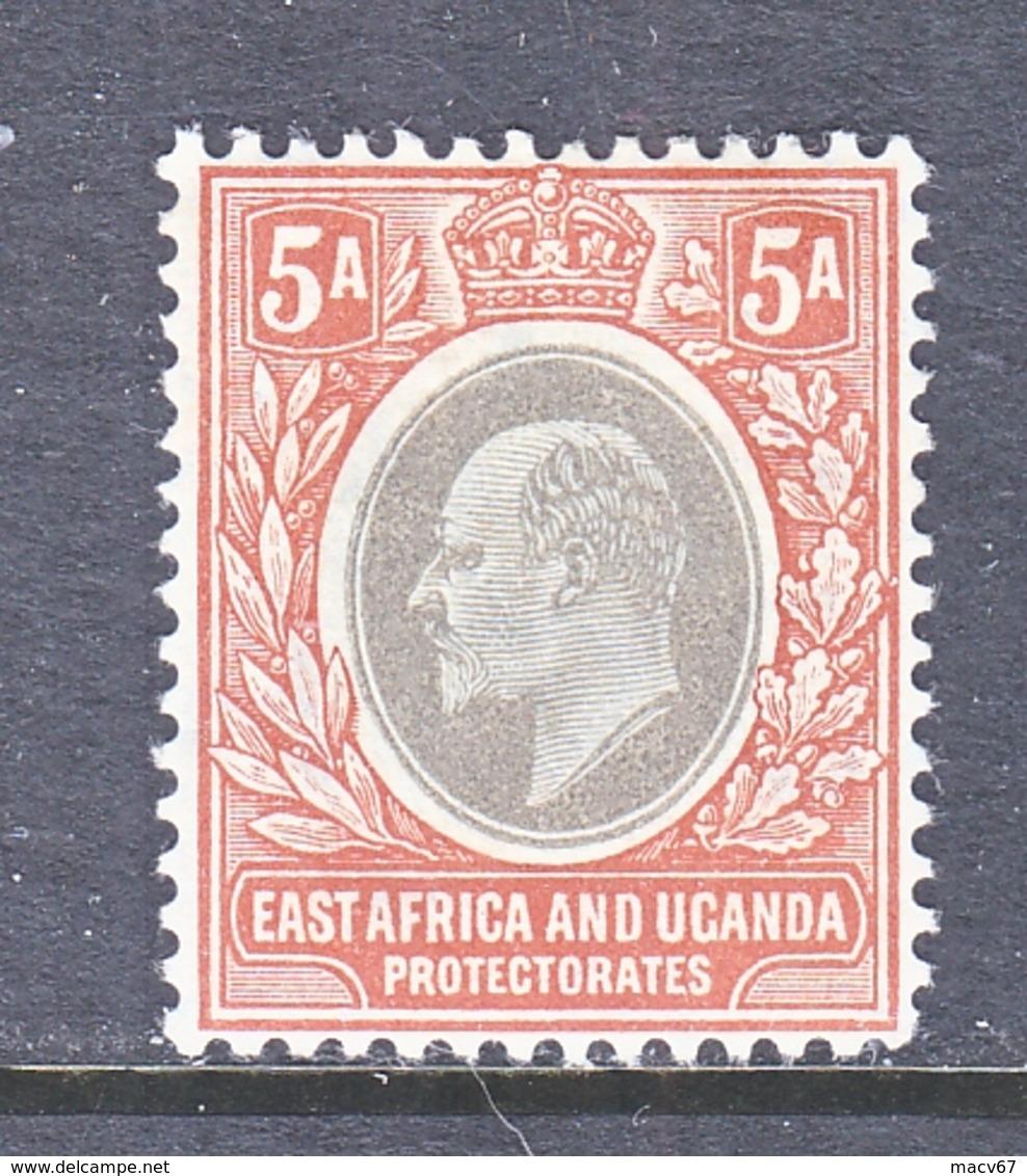 EAST AFRICA & UGANDA  PROTECTORATES  23   *  Wmk 3 Multi  CA - Protectorados De África Oriental Y Uganda