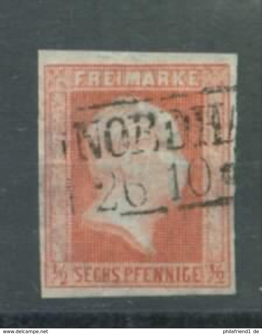 Preußen Nr. 1 Gestempelt Nordhausen 65 Euro Michel - Prussia