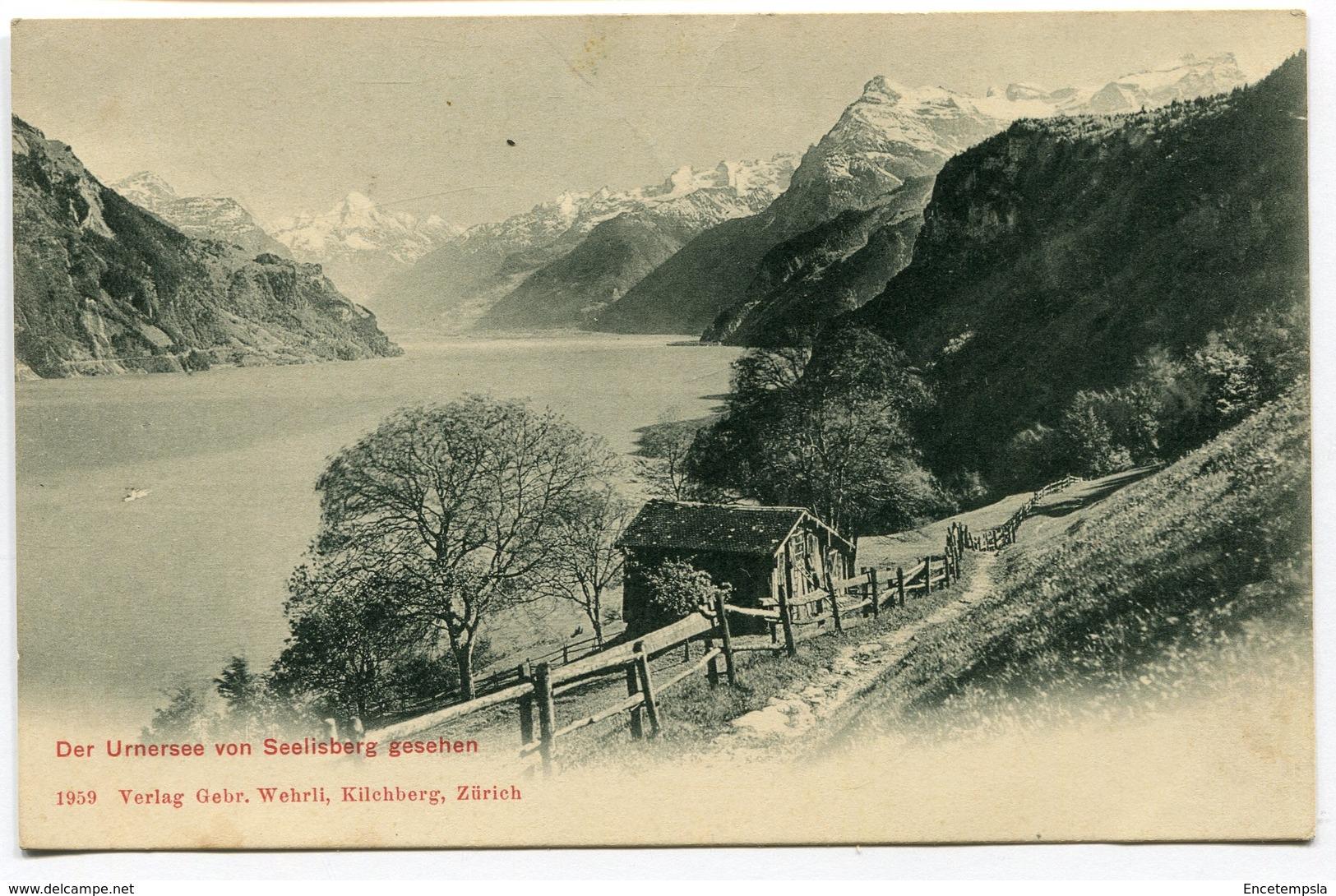 CPA - Carte Postale - Suisse - Der Urnersee Von Seelisberg Gesehen - 1906 (I9582) - UR Uri