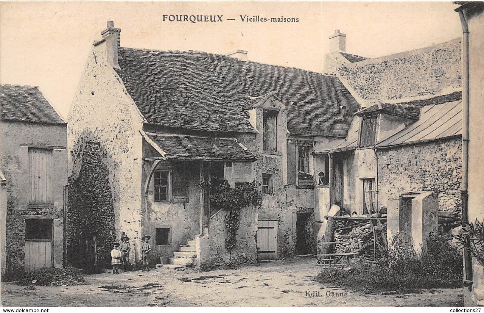 78-FOURQUEUX- VIEILLES MAISONS - Autres Communes