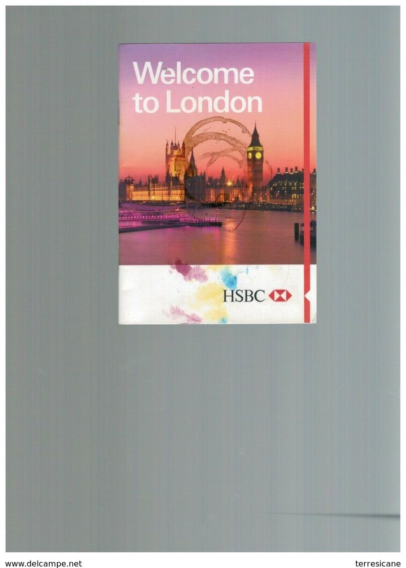 WELCOME TO LONDON HSBC - Dépliants Turistici