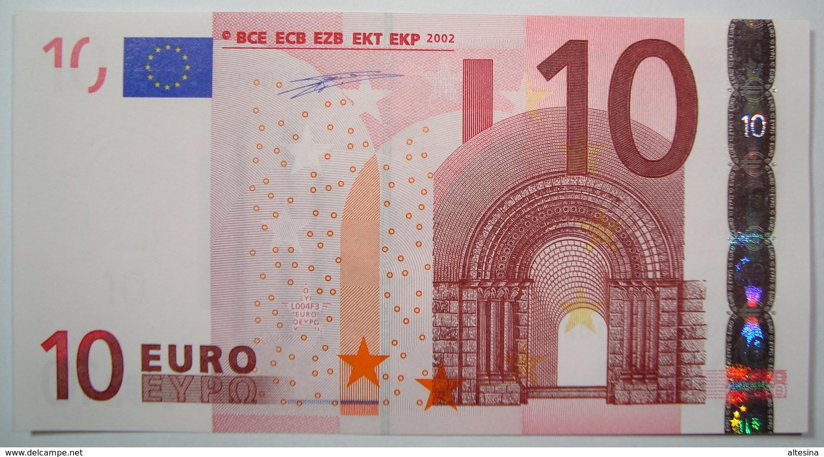 FRANCIA 10 EURO L004 F3  U2003  UNC DUISENBERG. - EURO
