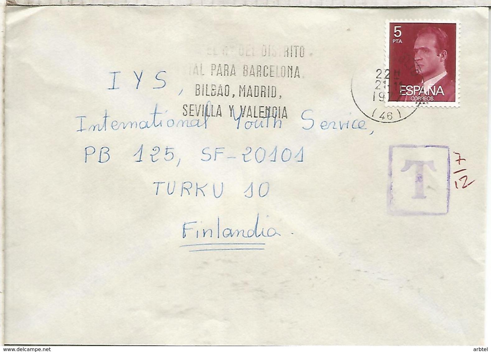 VALLADOLID CC CON MARCA DE TASA TASADA - 1931-Hoy: 2ª República - ... Juan Carlos I