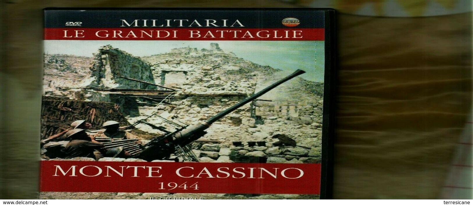 MILITARIA LE GRANDI BATTAGLIE MONTECASSINO - Storia