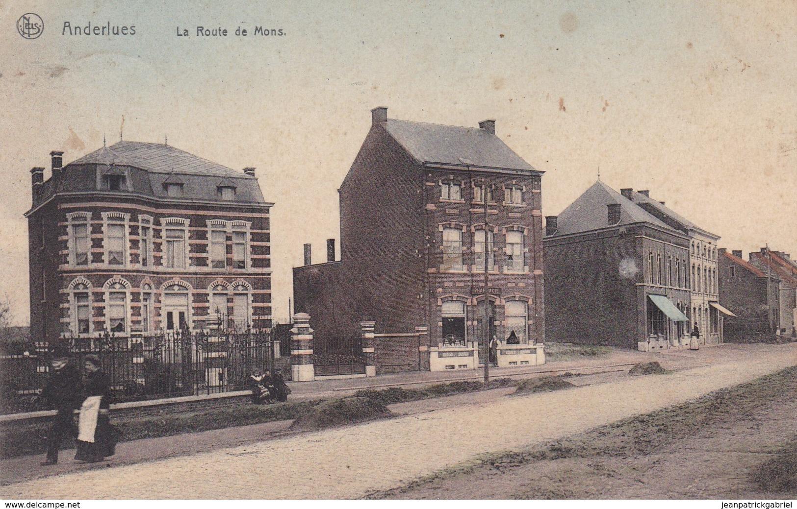 619 Anderlues La Route De Mons - Anderlues