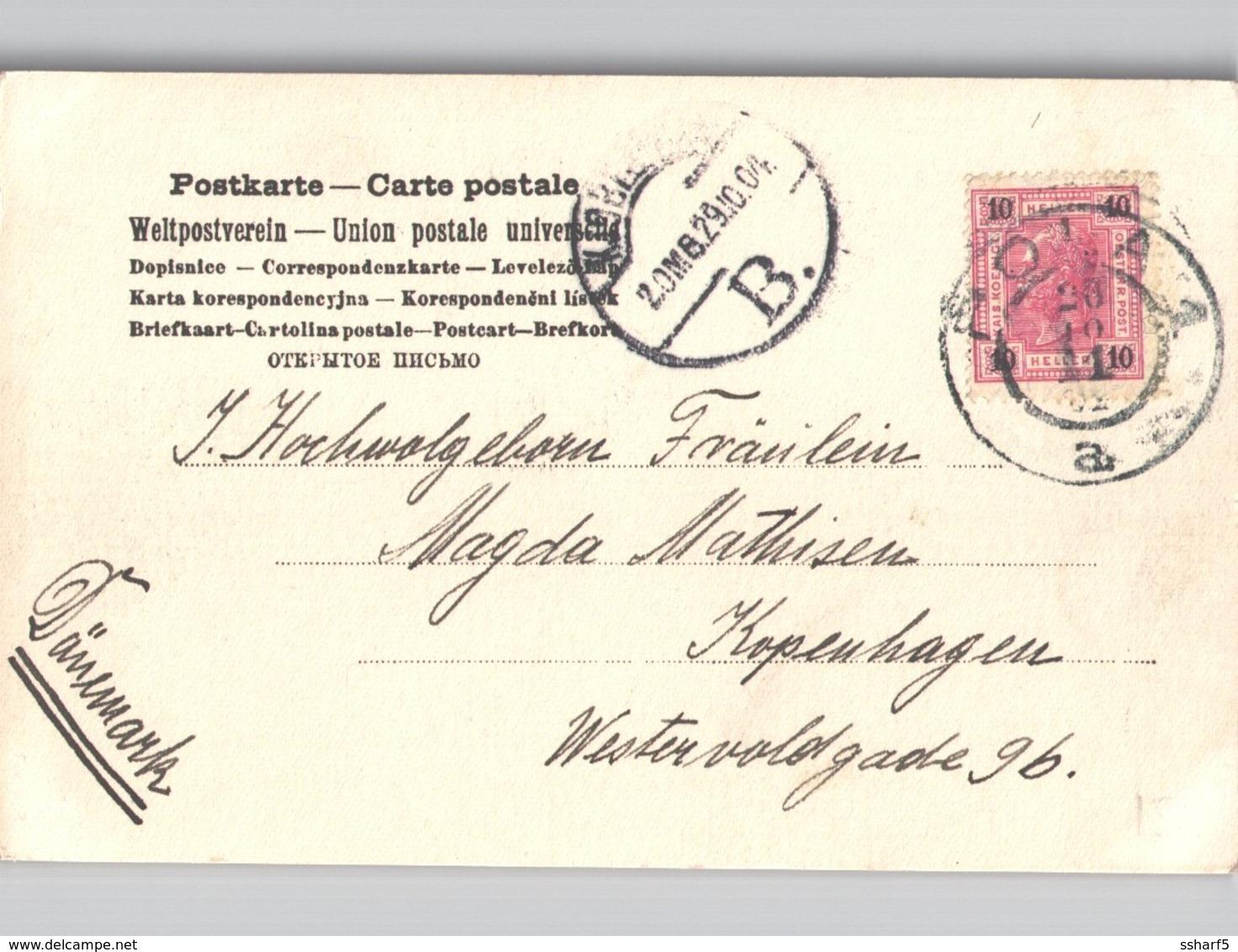 Pola Pula Real Photo Seamen At Work Sent 1904 - Croatia